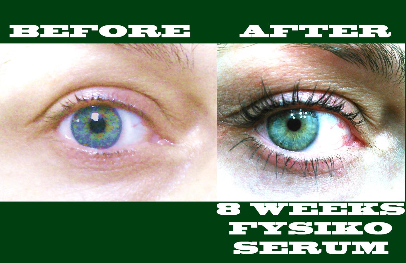 dfysiko eyelash serum results